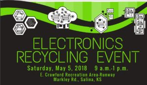 E-Waste Collection Event May 5, 2018!