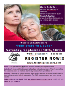 """""""Foot Steps To A Cure"""" September 10th in Abilene"""