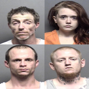Four Arrested in Connection With Fraudulent Checks
