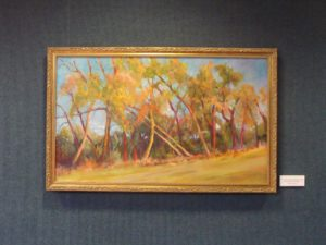 Salina Painter Uses Trees as Inspiration