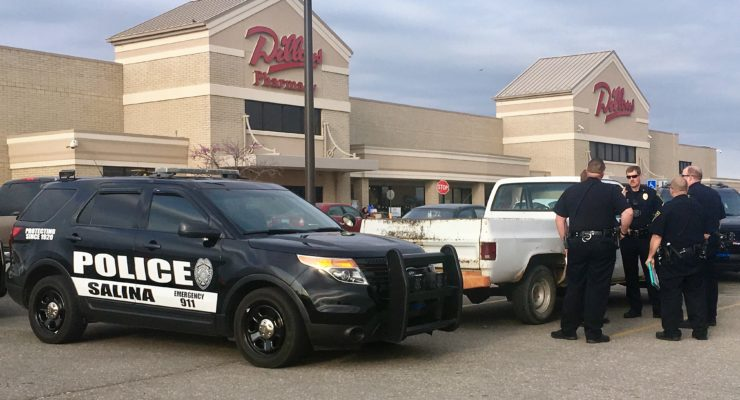 Salina Police find handgun hidden in Dillons bathroom after pursuit