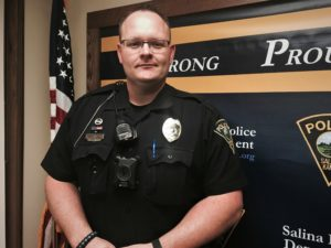Officer Micah Bunce is this week's BANK VI Hero of the Week