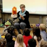 Storyteller Priscilla Howe residency through Wednesday at Salina elementary schools