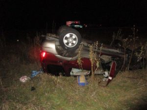 Ohio Man Hospitalized After SUV Hits Deer, Rolls Over