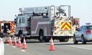 UPDATE: 2 women dead in 3-vehicle semi crash