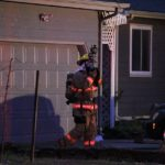 Occupant escapes house fire safely, extensive damage to home