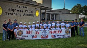 Cadet Law gives students experience in Law Enforcement World