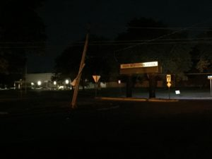 Accident Knocks Out Power to More Than 2,500