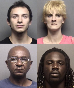 Four Arrested from July Most Wanted List
