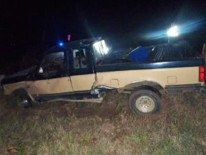 Brookville man hospitalized after single-vehicle rollover accident