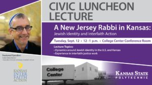 Kansas State Polytechnic's Civic Luncheon Lecture to feature presentation on Jewish identity