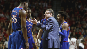 Kansas concludes road swing at Iowa State Tuesday
