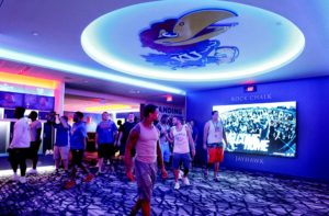 Jayhawks Unveil New Football Locker Room