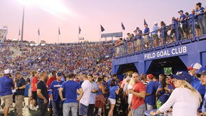 KU's WEF members now have access to Field Goal Club