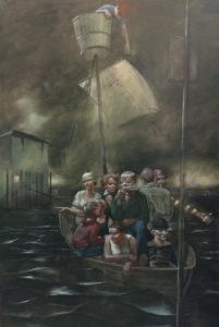 New KWU Exhibit Features Paintings and Mixed-media Work from Topeka Artists