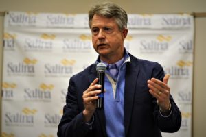 Rep. Roger Marshall talks health care during stop in Salina