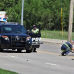 Car strikes motorcycle in north Salina, one hospitalized