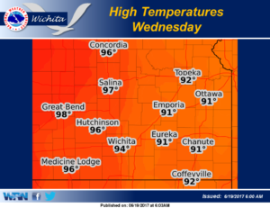 Warm weather returning Tuesday and Wednesday