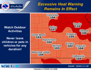 Intense heat continues to plague the region