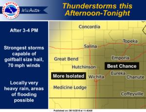 Chance for rain Thursday, Sunday