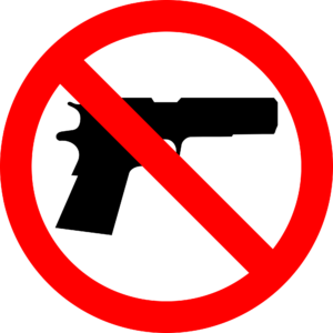"""No Guns"" Signs To Stay at City-County Building, For Now"