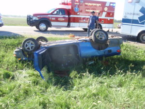 Injury accident on K-4