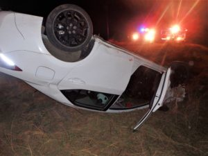 Salina man injured in single-vehicle rollover
