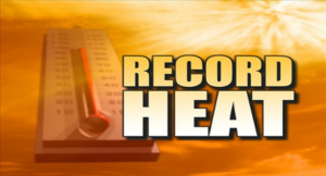 Record Setting Heat in Salina and Other Areas of Kansas