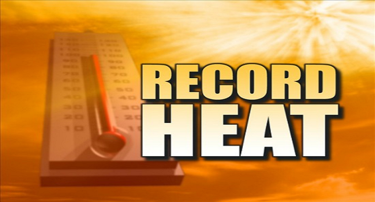 More Record High Temperatures Tuesday In Kansas