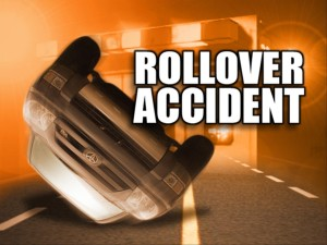 Woman Injured in Rollover Accident