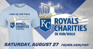 Join 99KG at the Royals Charities 5K Run/Walk This Saturday
