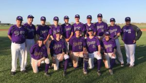 Southeast of Saline Baseball in Action Wednesday