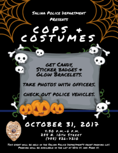 Salina Police Department to host Halloween event