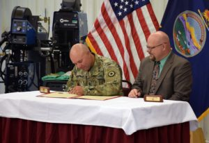 Kansas National Guard, Salina Tech sign partnership