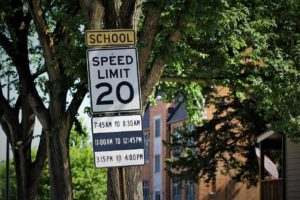 Police remind drivers about school zones, buses