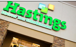 Hastings files for bankruptcy, gift cards to expire next month