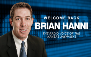 Hanni named Radio Voice of the Jayhawks