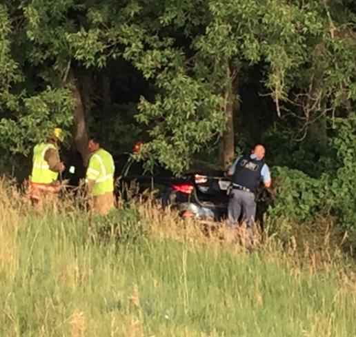 Kansas Woman, Child Hospitalized After Car Hits Fence