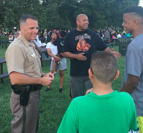 WPD, Community Come Together For Successful First Step Cookout