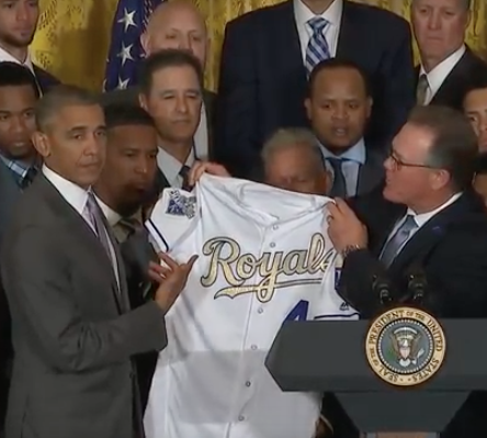 Watch President Welcome KC Royals to the White House - The ...