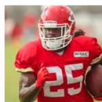 Chiefs RB Jamaal Charles still recovering from knee injury