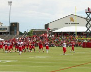 Audio: Chiefs players comment after first full squad training camp practice