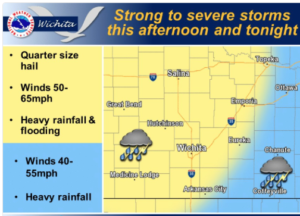 Chance for Friday Thunderstorms