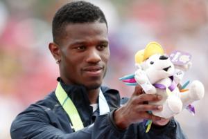 Team USA's 4x400m win earns former Jayhawk Clemons gold medal