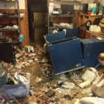 South central Kansas flood victims evaluate damage