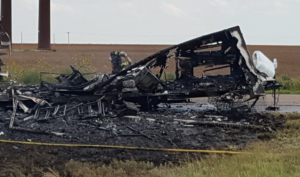 Thursday fire in Ford County- photo Ford Co. Fire and EMS
