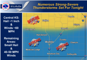 Chance for Severe, Thursday Thunderstorms
