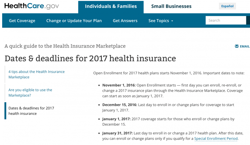 health insurance policy plan online
