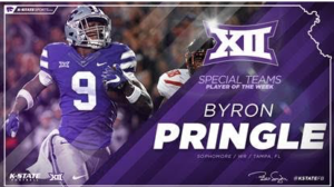 2 K-State Players Pick Up Big 12 Honors