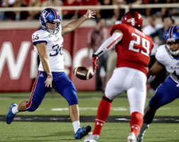 KU punter named Big 12 Special Teams Player of the Week